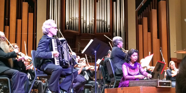 Murl Allen Sanders with the Seattle Symphony